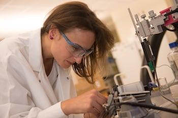 Flavia Vitale, a postdoctoral researcher at Rice