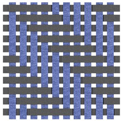 4 x 4 Twill Weave