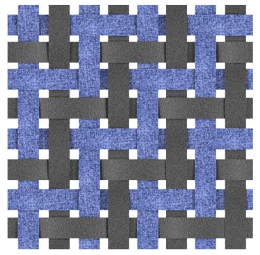 Dual Twill Weave