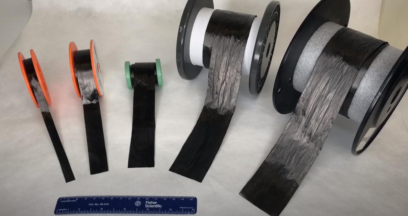 Wide Format Carbon Nanotube Tape/FIlm