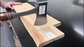 Shear Testing Carbon Nanotube Yarn with Axe