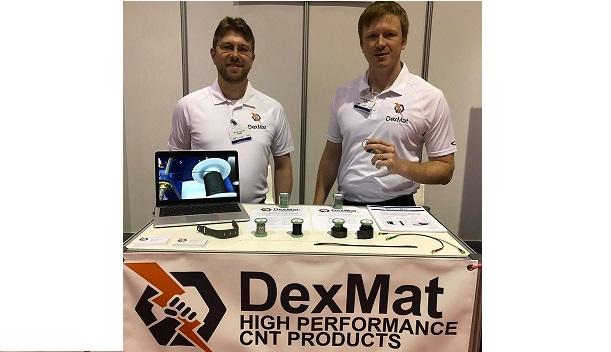 DexMat Carbon Nanotube Wearables IDTechEx, Santa Clara, 2018