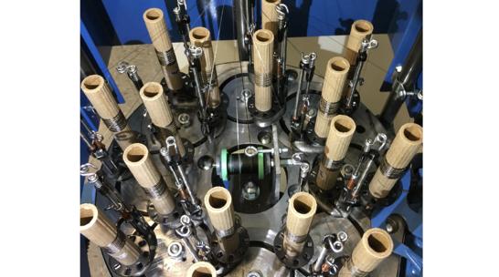 Carbon Nanotube Fibers and Maypole Braider
