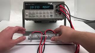 Resistance Measurement Procedure for Carbon Nanotube Fiber/Films